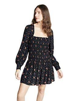 Women's Two Faces Mini Dress