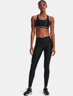 Women's HeatGear Armour No-Slip Waistband Shine Full-Length Leggings