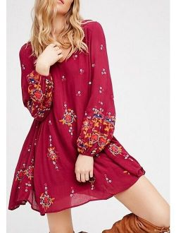 Oxford Mini Dress Xs Nwt Berry