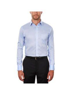 Men's Chaps Regular-Fit Performance Engineering Comfort Stretch Spread-Collar Dress Shirt