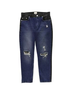 Womens Indi Mash Up Boyfriend Fit Jeans