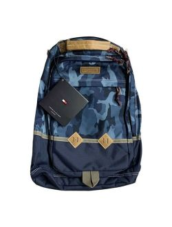 Blue Camouflage Backpack New W/tags Authentic