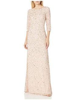 Women's Beaded Gown