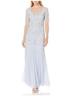 Nna Papell Women's Beaded Gown