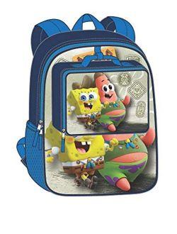 Spongebob Squarepants Kids Cartoon Movie 5-Piece Backpack Set