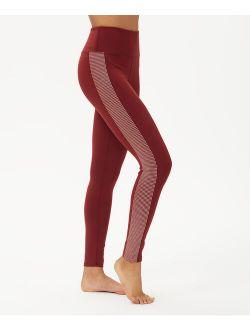 BSP | Syrah Rubber-Dot Side Stripe High-Waist Leggings - Women