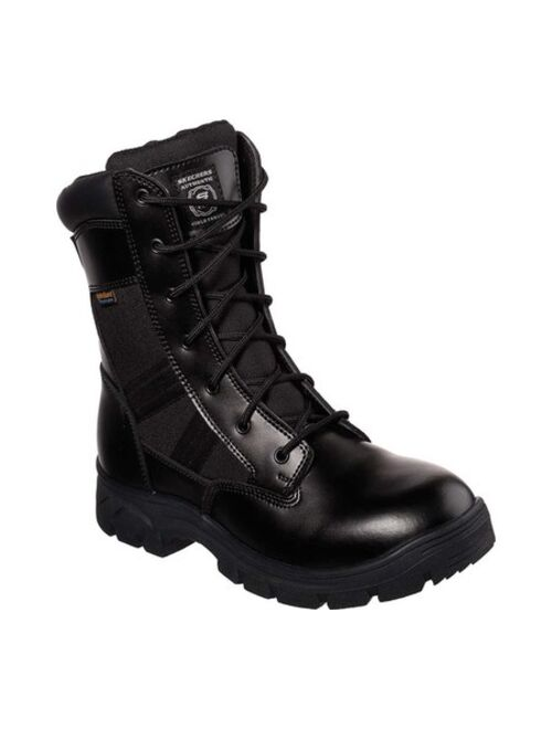 Skechers Work Men's Wascana - Athas 8 Inch Side Zip Water Proof Tactical Boots