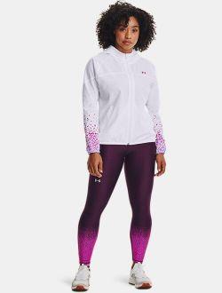 Women's HeatGear® Armour No-Slip Waistband Gradient Ankle Leggings