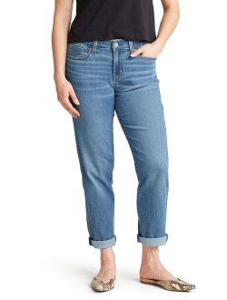 Women's Modern Slim Boyfriend Jeans