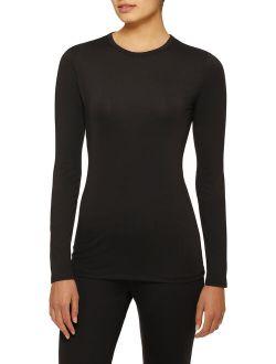 Women's Stretch Microfiber Long Underwear Thermal Top