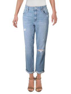 Joe's Jeans Womens Mid-Rise Slim Ankle Boyfriend Jeans