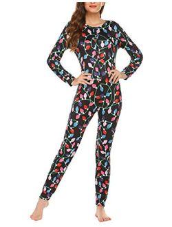 Womens Jumpsuit Onesie Pajamas Halloween Bodysuit One Piece Sleepwear S-xxl