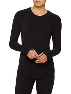Cuddl Duds ClimateRight Long Sleeve Crew Stretch Fleece