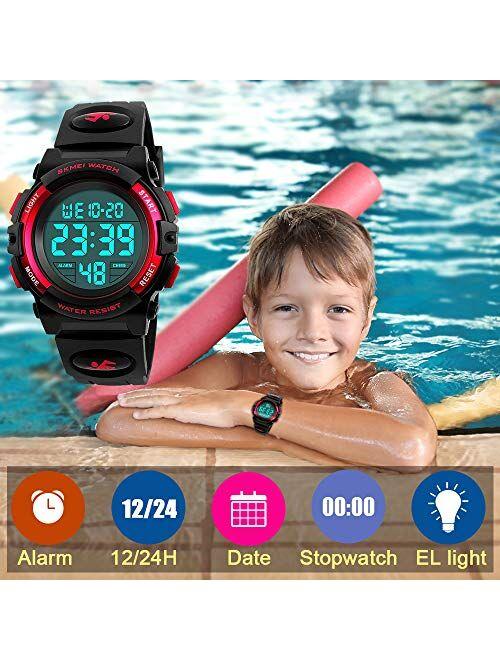 SOKY LED Waterproof Digital Sport Watch