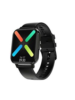 2021 Latest Smart Watch, Fitness Tracker with Temperature/Heart Rate/Sleep/Steps Monitor Compatible for iPhone Samsung Android, Smartwatch for Men Women