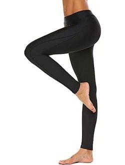 Women Swim Pants Uv Sun Protective Long Surfing Leggings Rash Guard Swimming Bottom Active Sport Tights