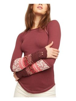 In The Mix Cuff Thermal Top