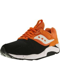 Men's Grid 9000 Black/orange Ankle-high Fashion Sneaker - 8.5m