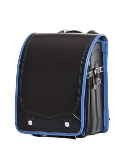 ransel randoseru backpack automatic school bag girls and boys PU leather send gift