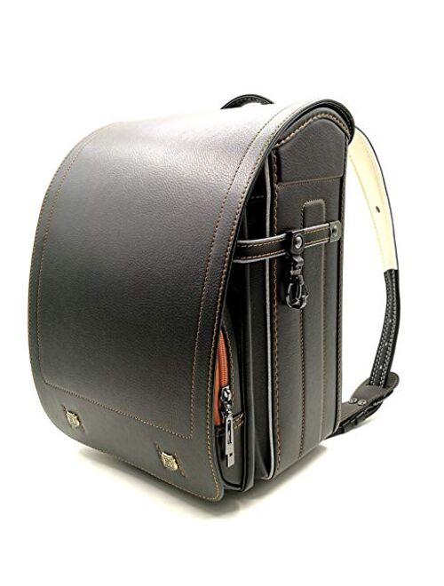 Ransel Randoseru light weight upscale backpack Japanese school bags for boys girls Senior PU leather