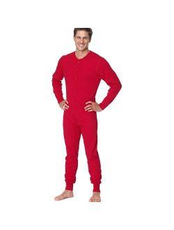 Mens Organic Cotton Camo Thermal Union Suit (14530)