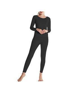 BAMBOOL Cool Women's Thermal Underwear Set Bamboo Viscose