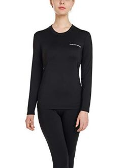BaseLayer Mechanics - Women's Fleece Lined Base Layers with Stretch (Thermals)