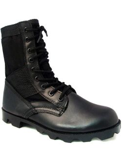 Men's Jungle Boots GI Type Tactical Combat Military Lace up Work Shoes