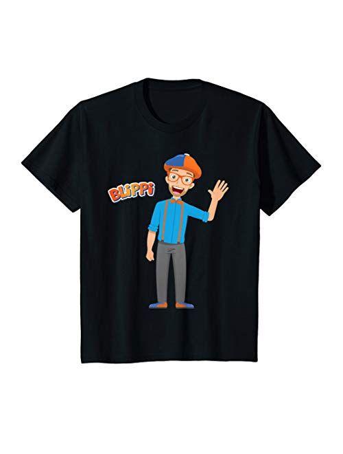 Kids Cartoon Blippi T-Shirt