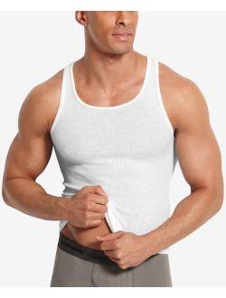 Men's Platinum FreshIQ™ A-Shirt Tank 5 Pack