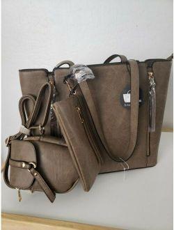 Los Angeles Handbag 3 Piece Set