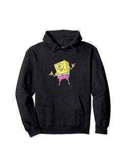 Spongebob Squarepants winking here for the fun Hoodie