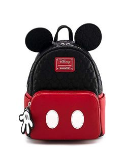 Ungefly Mickey Mouse Quilted Mini Backpack