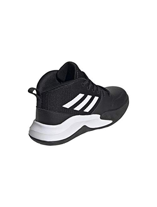 adidas Unisex-Child Own The Game Wide Basketball Shoe