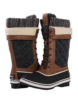 Women's 1932 Mid Calf Winter Snow Boots