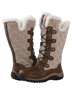 Women's Mid-calf Fleece Lined Winter Boots
