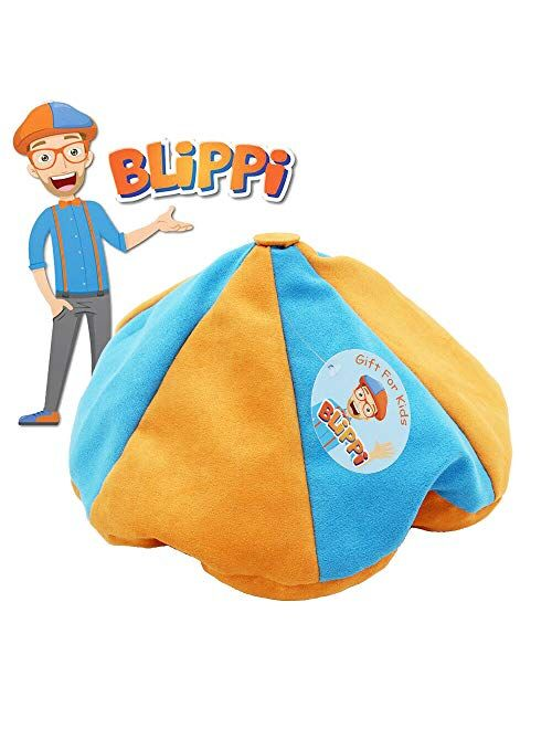 Blippi Hat Unisex Children Kids Teenagers Blippi Cap Cosplay Prop