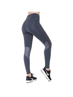 Women Cycling Pants 3d Padded,long Bike Bicycle Pants Compression Tight With Pockets