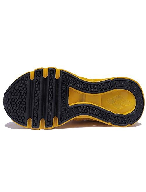 UMYOGO Boys Girls Shoes Tennis Running Lightweight Breathable Just So So Sneakers for Kids
