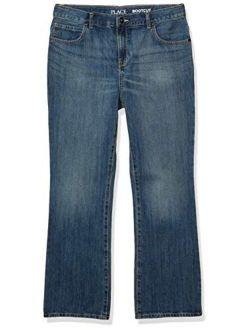 Boys' Basic Bootcut Denim Jeans