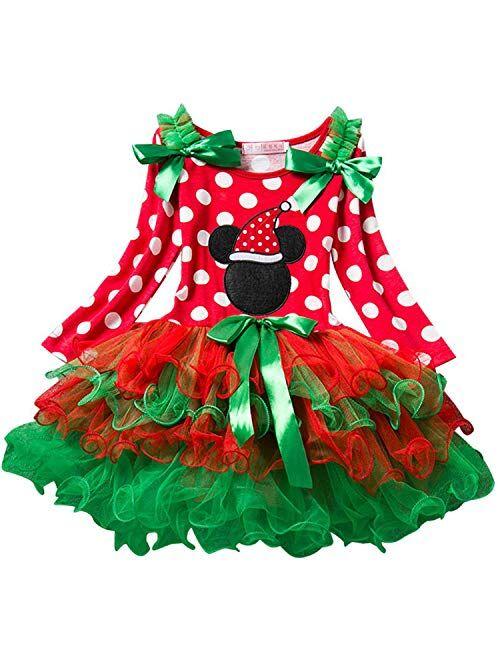 NNJXD Flower Girl's Wedding Dress Lace Sleeveless Tulle Christmas Dresses