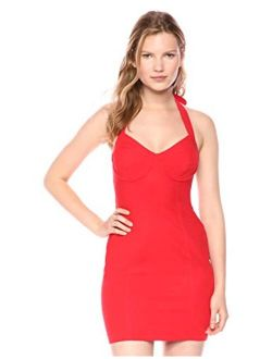 ASTR the label Women's Marianne Halter Sweetheart Bodycon Mini Dress