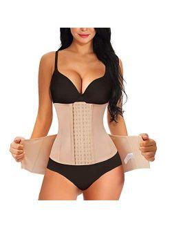 2 In 1 Postpartum Belly Wrap Girdle Pelvis Belt Waist Trainer Tummy Control Shapewear For Women