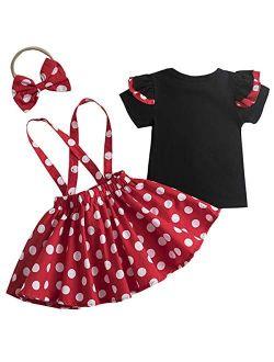 Newborn Baby Girls Shorts Set T-shirt Top Toddler Girl Clothes