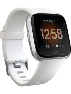 Versa Lite Smart Watch (s & L Bands Included) - White / Silver.rfb