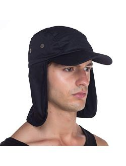 Outdoor Fishing Sun Cap - Ear Neck Flap Hat