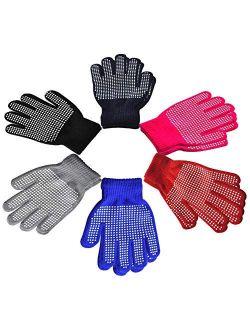 Children Anti-skid Magic Glove - Kids Magic-Stretch Gripper Gloves (Multicolor)