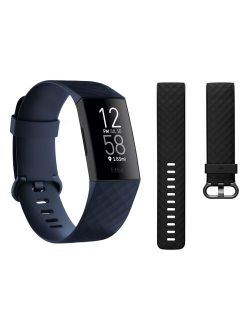 Charge 4 Advanced Fitness Tracker + Gps - Storm Blue, One Size
