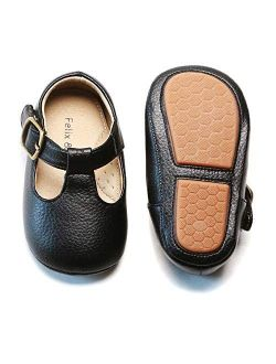 Felix & Flora Soft Sole Leather Baby Walking Shoes