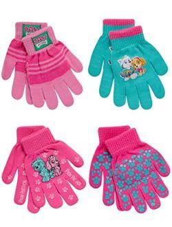 Nickelodeon Girls Paw Patrol 4 Pack Mitten or Glove Set